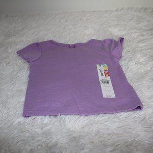 Garanimal's  Baby  Girl Lt. Purple Tee